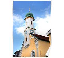 Maria-Hilf-Kirche @ Murnau Poster