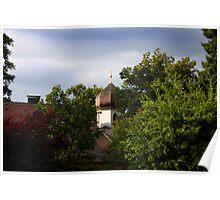Christuskirche @ Murnau Poster