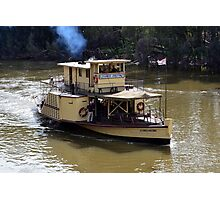 Echuca Paddlesteamer - PS Alexander Arbuthnot Photographic Print