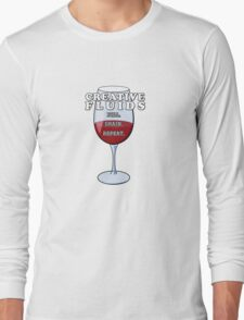Wine, The Fluid of Creativity (LRG) Long Sleeve T-Shirt