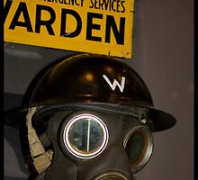 Newcastle Museum Series - Wardens Gas Mask by reflector
