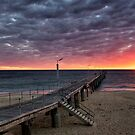 Port Noarlunga Jetty....South Australia  by Ali Brown