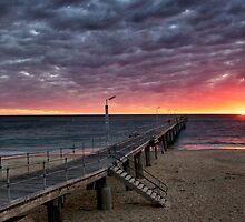 Port Noarlunga Jetty....South Australia  by Ali Brown