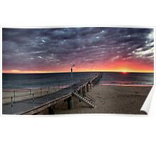 Port Noarlunga Jetty....South Australia  Poster