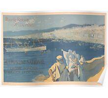 Pour le retour souscrivez 4e Emprunt National Crédit Foncier dAlgérie et de Tunisie Poster