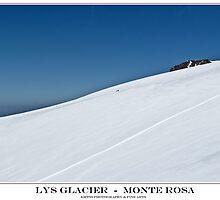 lys glacier by kippis