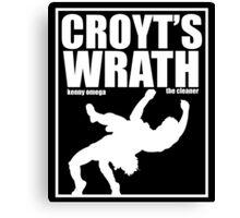 Croyt's Wrath Canvas Print
