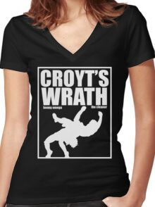 Croyt's Wrath Women's Fitted V-Neck T-Shirt