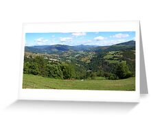 Landscape with Mountains (2) Greeting Card