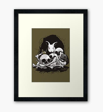 BEAST OF CAERBANNOG Framed Print