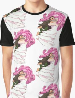 SPIN! Steven Universe: Greg and Rose Quartz Graphic T-Shirt