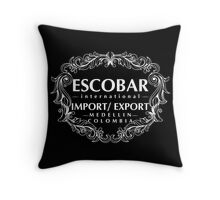 Escobar Import and Export WHITE Throw Pillow