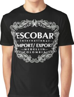 Escobar Import and Export WHITE Graphic T-Shirt