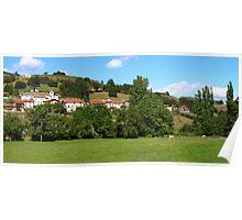 Village Panorama Poster
