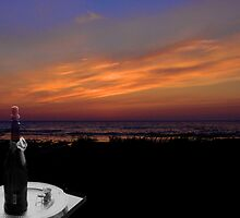 Champaigne at Sunset by Yukondick