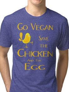 Save the Chicken and the Egg Tri-blend T-Shirt