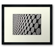 Repetitious Framed Print