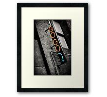Gogo Framed Print