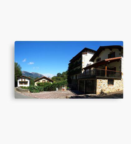 Urrotz Village Canvas Print