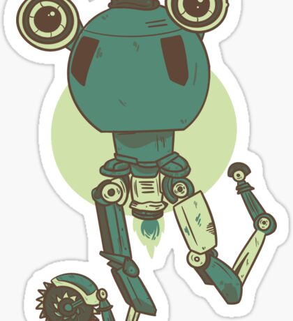 Dapper Codsworth Sticker