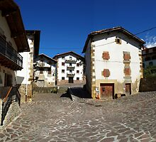 Street in Urrotz by photoshot44