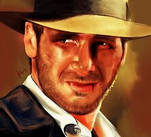 Indiana Jones by katiearts