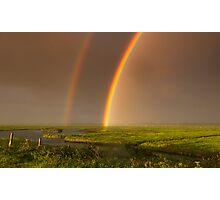 The rainbows Photographic Print