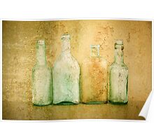 4 Bottles Poster