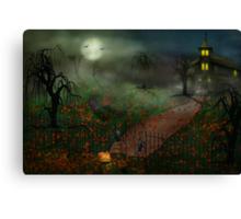 Halloween - One Hallows Eve Canvas Print