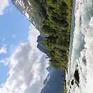 River in Olden in Norway by Sweetpea06