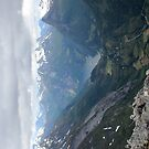 Geiranger Mountains in Norway by Sweetpea06