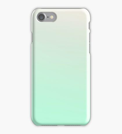 MINT CREAM - Plain Color iPhone Case and Other Prints iPhone Case/Skin
