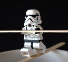 Stormtrooper Training Sticker