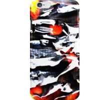 Flames and Books iPhone Case/Skin