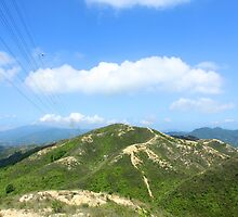 Mountain landscape in Hong Kong by kawing921