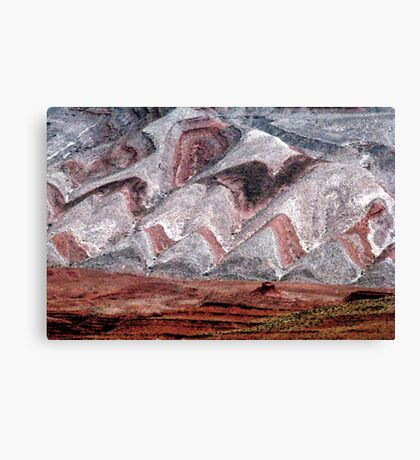 Mesa at Mexican Hat Canvas Print