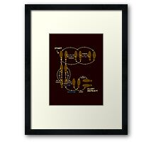 Slide: It's Electric Framed Print