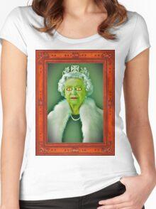 Queen of reptiles Women's Fitted Scoop T-Shirt