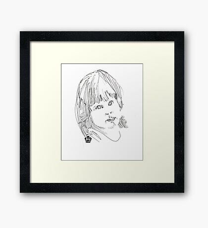 Darlin' Framed Print