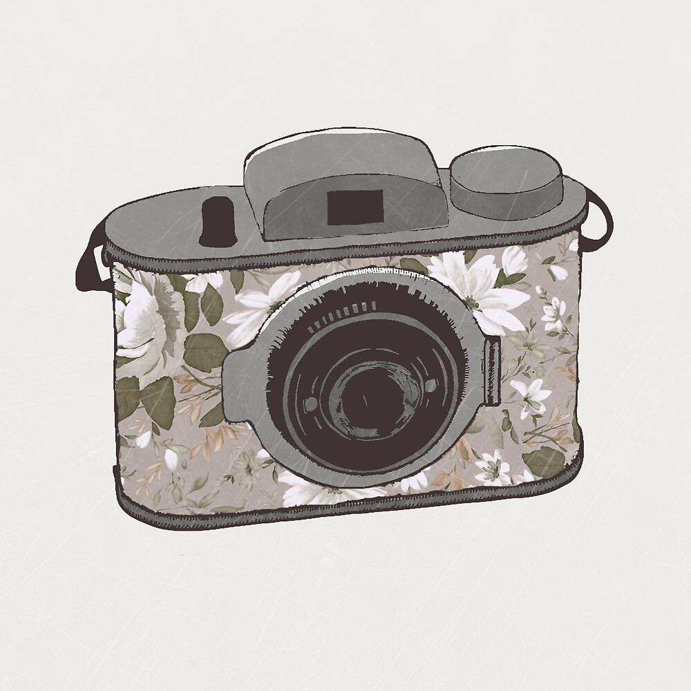 Floral Camera 1 by Zeke Tucker