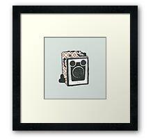 Floral Camera 2 Framed Print