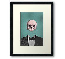 Dapper Dead Framed Print