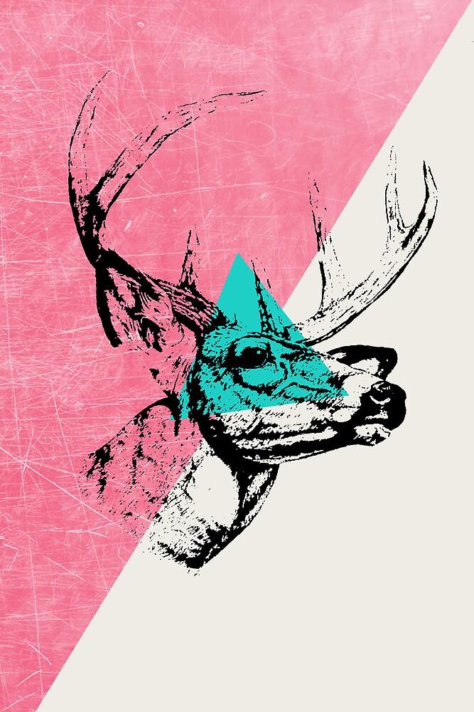 Techno Deer by Zeke Tucker