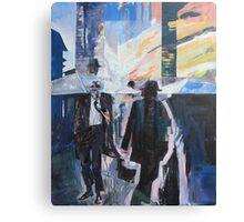 Old Man Walking. Canvas Print