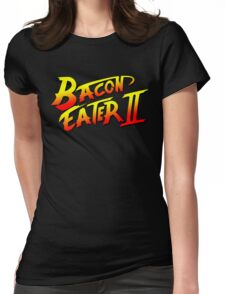 Bacon Eater II  Womens Fitted T-Shirt