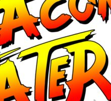Bacon Eater II  Sticker