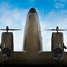 DC-3 by Robert Baker
