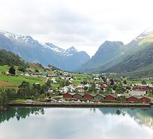 Norway Town by Sweetpea06