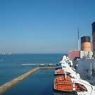 Queen Mary view from ship by Sweetpea06