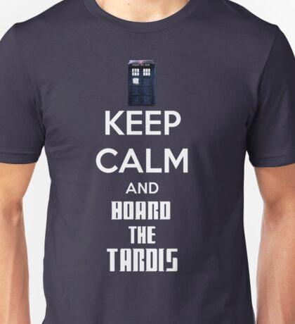 Keep Calm And Board The Tardis T-Shirt